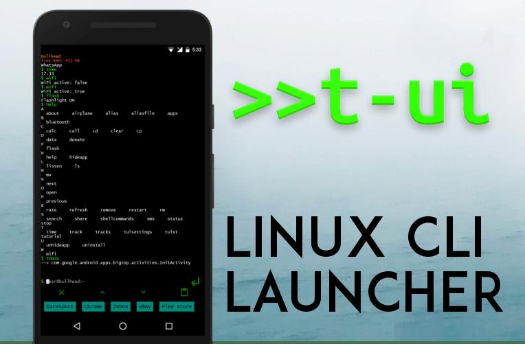 unikatni launcher linux