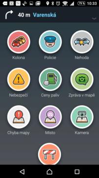 V navigaci Waze lze hlásit různé události