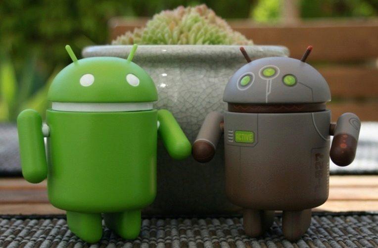 Android telefonů