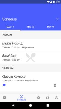 Google IO aplikace (1)