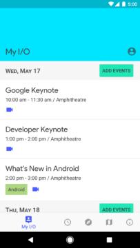 Google IO aplikace (2)