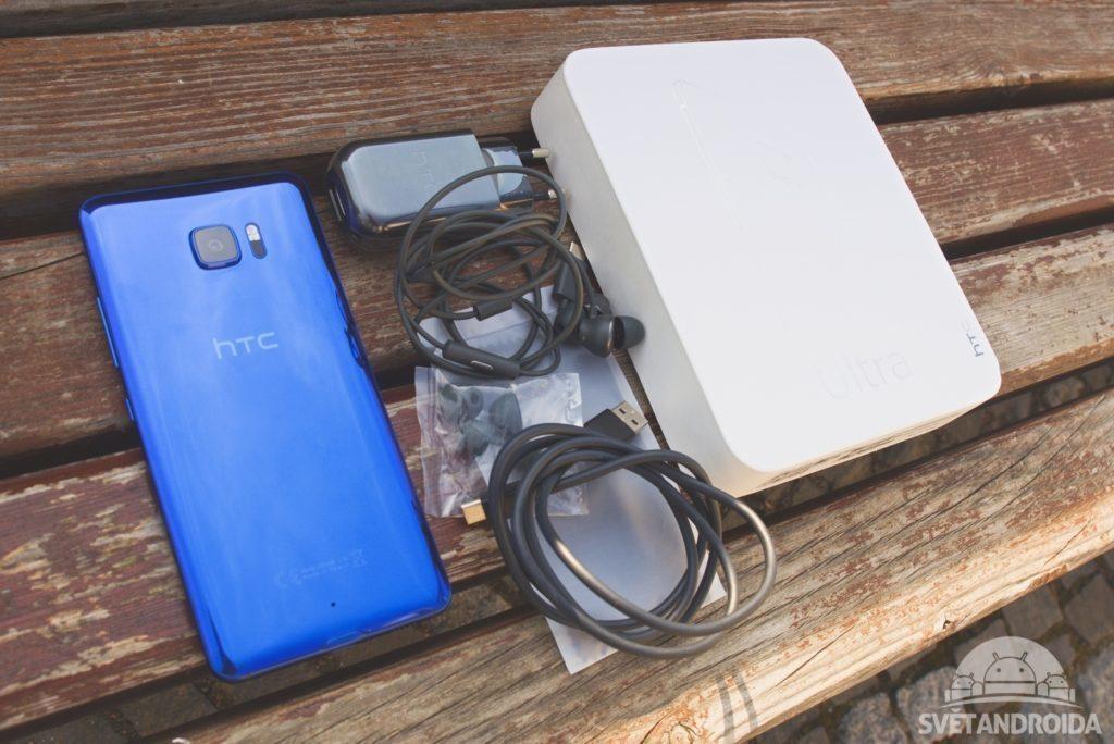 HTC U Ultra balení