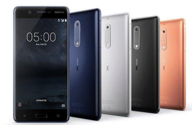Nokia telefony
