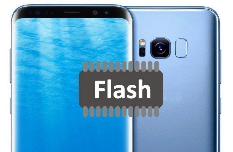 S8 pamet flash
