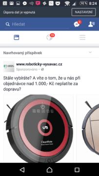 Reklama na sociální síti