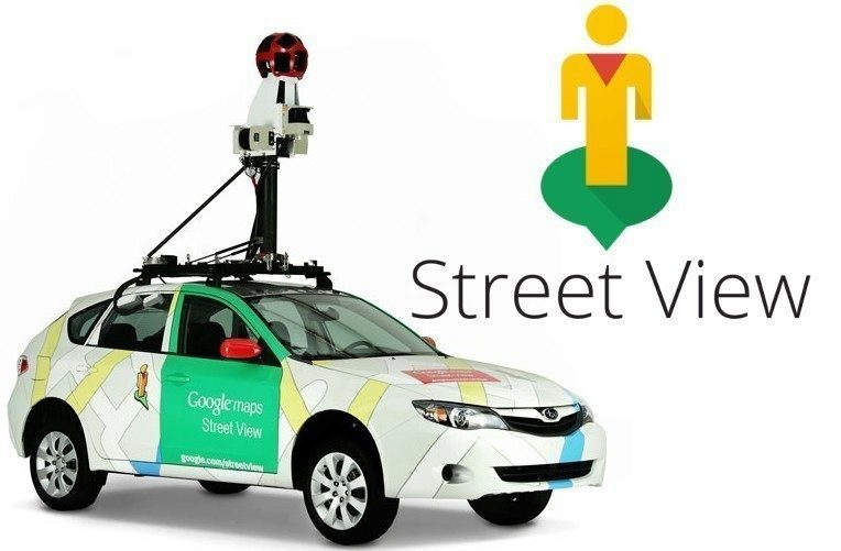Auta Google Street View