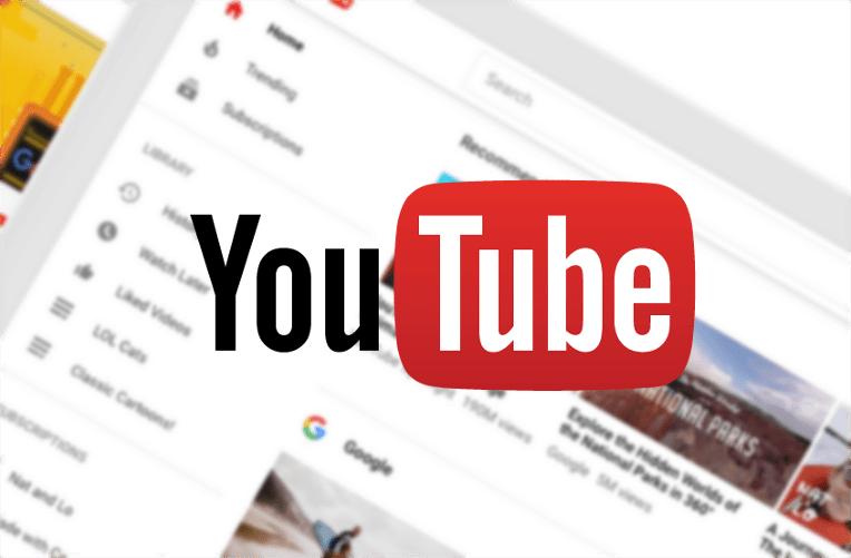 Novinky YouTube mění design