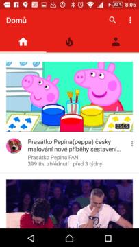OGYouTube vypadá jako YouTube