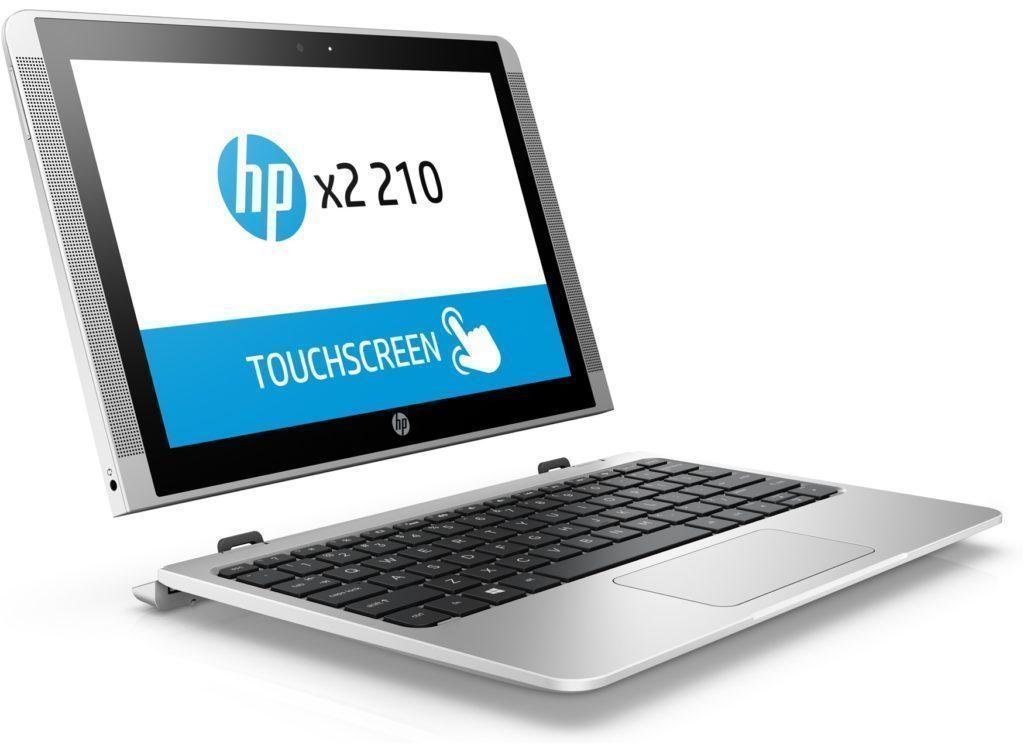 Konvertibilní notebook HP x2 210 G2 má konektor USB-C
