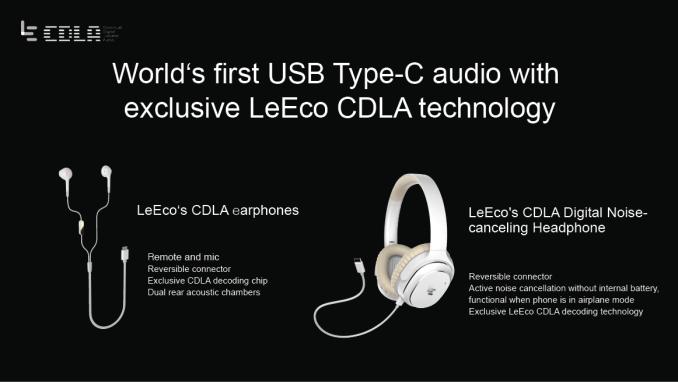 LeEco prezentuje audio přes USB-C jako výhodu