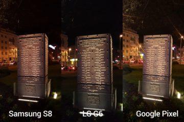 porovnani foto – s8 vs G6 vs Pixel 3