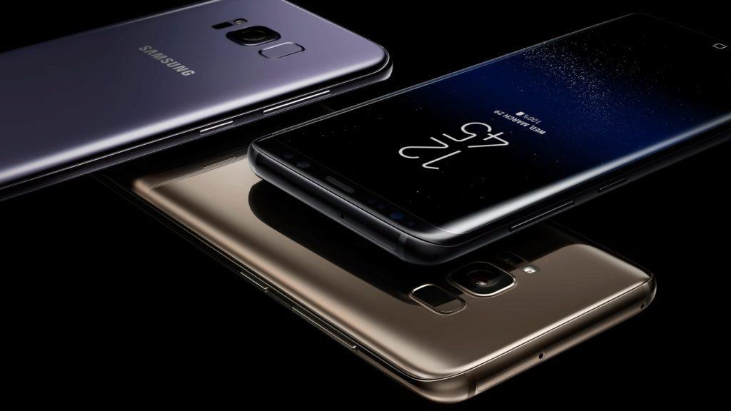 Samsung Galaxy S8 podporuje Bluetooth 5