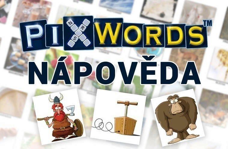 Pixwords pomocník nápověda obrázkům help