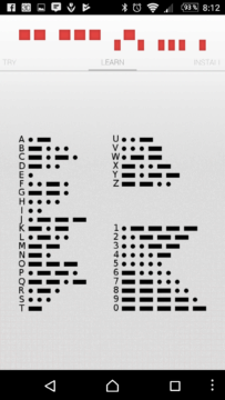 Učení Morseovy abecedy