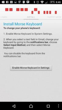 Nastavení klávesnice jako výchozí