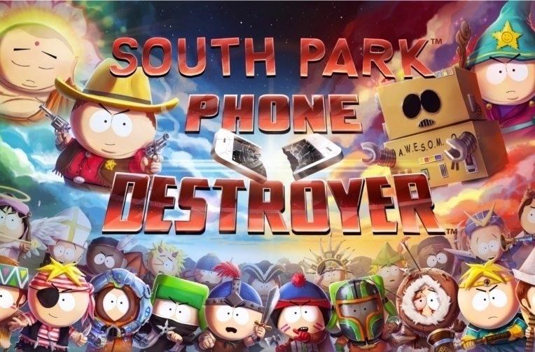 mobilní hra South Park
