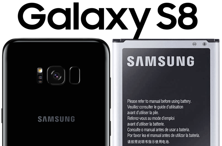 baterie v galaxy S8