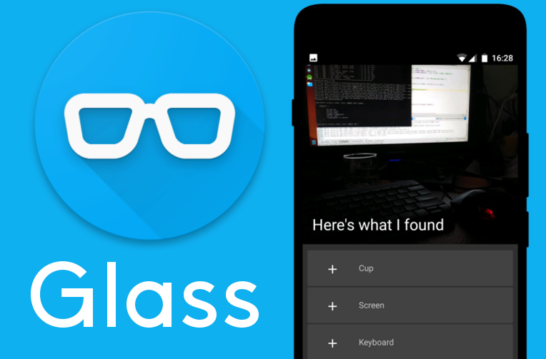 aplikace Glass