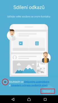 Podmínky služby Link Sharing