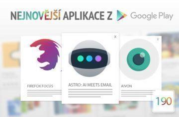 Nejnovější aplikace z Google Play #190: zkuste chytřejší Gmail