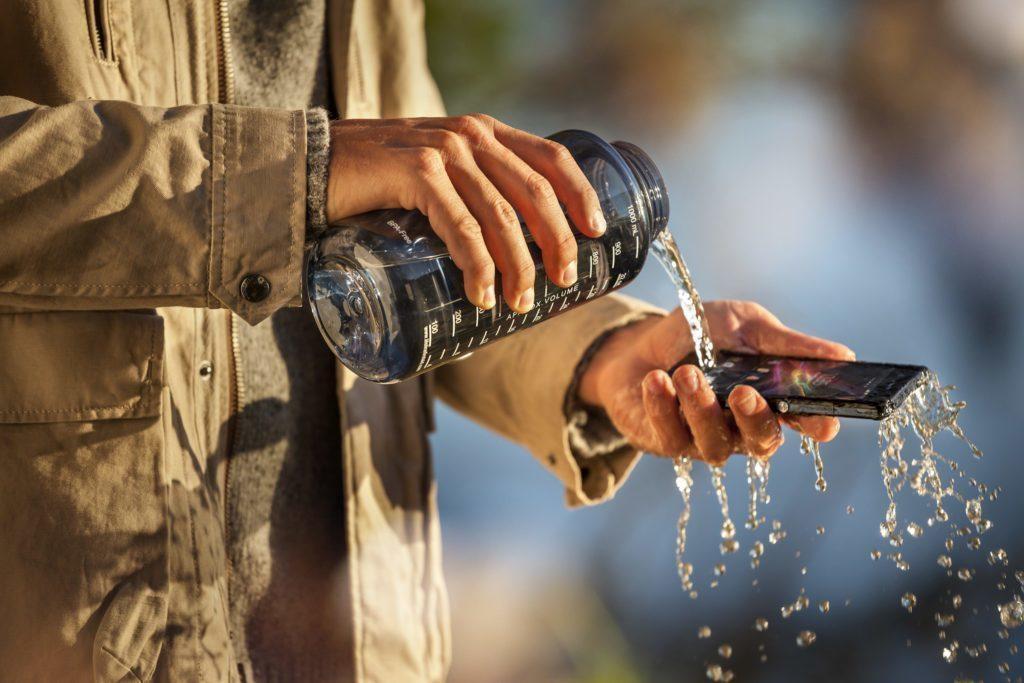 Odolnost proti vodě a prachu může být výhodou