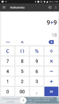 Kalkulačka ClevCalc