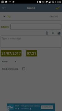 Automaticky posílat SMS