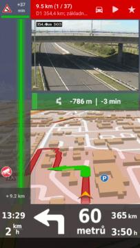 Pohled okem dopravní kamery