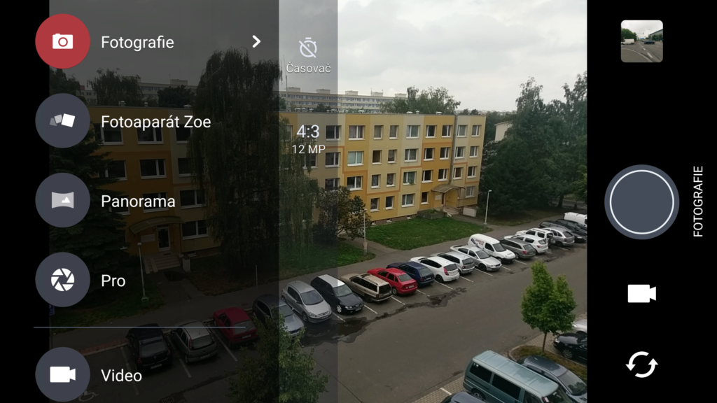 HTC 10 - aplikace fotoaparátu 1