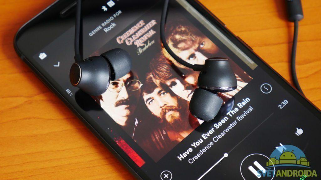 HTC 10 - hudba, sluchátka