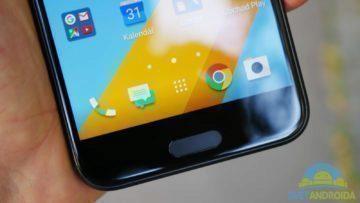 HTC 10 – konstrukce, spodní strana