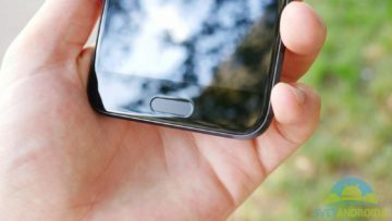 HTC 10 -konstrukce, tlačítko