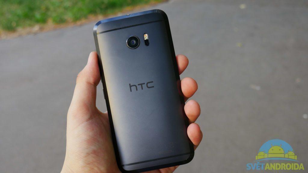 HTC 10 -konstrukce, zadní strana