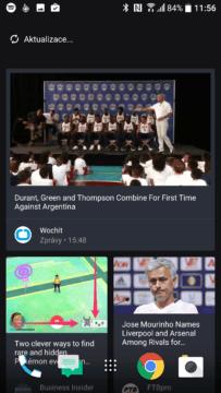 HTC 10 – ukázka systému s rozhraním Sense 2