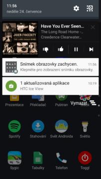 HTC 10 – ukázka systému s rozhraním Sense 4