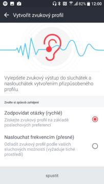 HTC 10-zvuk, nastavení 3