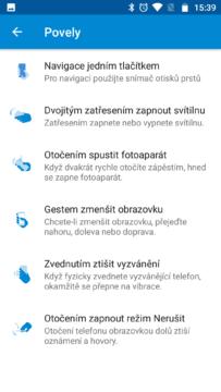 Moto G5 Plus funkce (3)