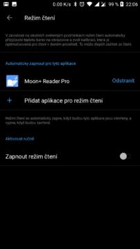 OnePlus rezimy zobrazeni (2)