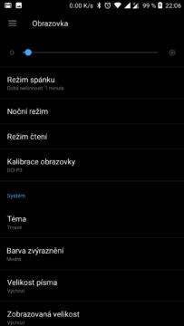 OnePlus rezimy zobrazeni (3)
