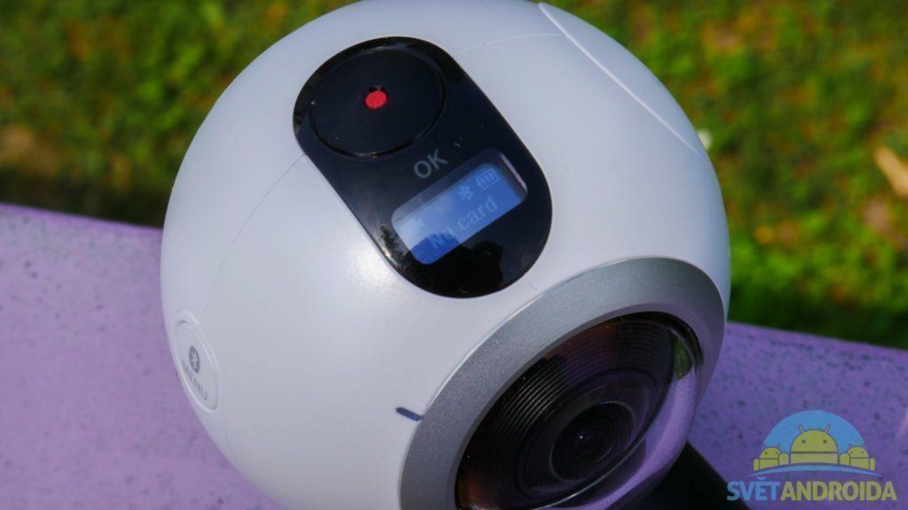 Samsung Gear 360-displej