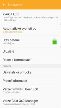 Samsung Gear 360 – mobilní aplikace 5