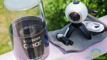 Samsung Gear 360-obsah balení
