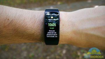 Samsung Gear Fit 2 – displej, aplikace 2