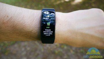 Samsung Gear Fit 2 – displej, aplikace 3