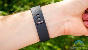 Samsung Gear Fit 2 – konstrukce, pásek