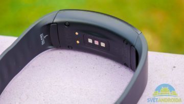 Samsung Gear Fit 2 -konstrukce, spodní část