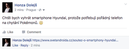 Souteu o smartphony Hyundai