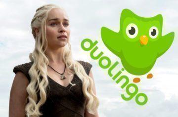 Co má společného Game of Thrones a Duolingo? Jazykový kurz valyrijštiny