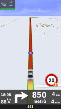 20 km/h na okresce - určitě ne!
