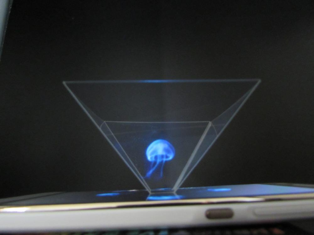 hologram na telefonu